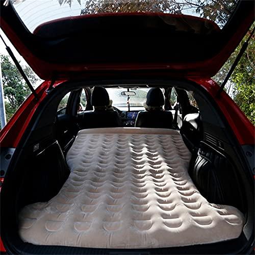 HFDDF Cama Inflable del Coche, colchón portátil de conducción automática SUV del colchón de Aire Cama de Viaje de Coche 13 cm de Espesor Cómoda Cuna 180 * 137cm