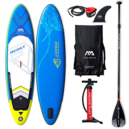 AQUA-MARINA Stand up Paddle Gonflable Sup Beast 2019 Pack...