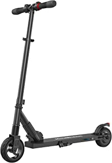 MEGAWHEELS Electric Scooter Kick Scooter Automatic Installation Adjustable E-Scooter Ultra-Lightweight Foldable Speeds Up to 14MPH
