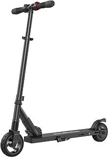 M MEGAWHEELS Trottinette Electrique Moteur de 250W Pliable et Réglable en Hauteur Scooter Electrique Légère de 7,5kg pour ...