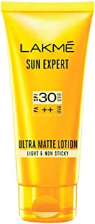 Lakme Sun Expert SPF 30 PA++ Ultra Matte Lotion, 100 ml