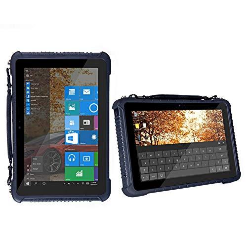 HiDON - Tablet Impermeable 10.1 Pulgadas Cherry-Trail Z8350 2.4G / 5G batería de Doble Banda WiFi 3G WCDMA 10000 mAh batería de Litio Impermeable