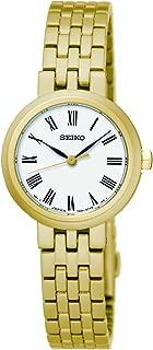 Seiko Women SRZ464P Year-Round Analog Quartz Gold Watch