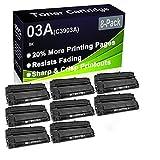 Paquete de 8 cartuchos de tóner negro compatibles 03A C3903A (alta capacidad) para impresoras HP LaserJet Pro 5mp, 5p, 6mp, 6p, 6pse, 6Pxi