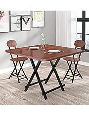 Scktoo 折りたたみ式 サイドテーブル 木製 ダイニングテーブル リビングテーブル