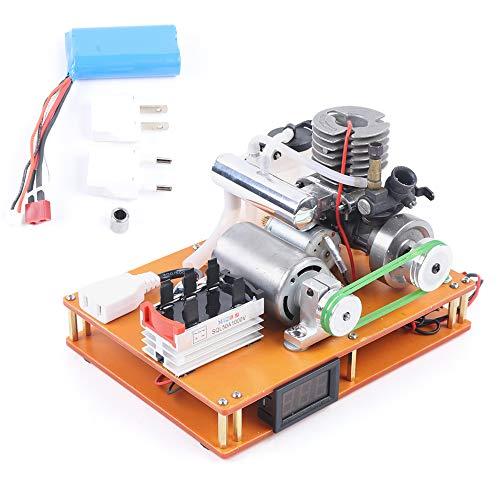 MOMOJA 100-500V Motor de metanol Laboratorio Motor Generador Eléctrico Generador de Metanol...