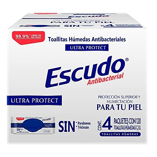 Toallitas Desinfectantes  marca Escudo
