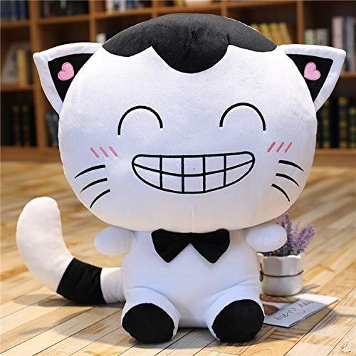CZJMCT-DQ Cojín de peluche con forma de gato, regalo para niños CZJMCT-DQ (color: 4, altura: 65 cm)