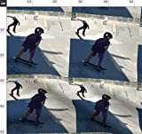 Kinder, Jungen, Skateboard, Sommer Stoffe - Individuell