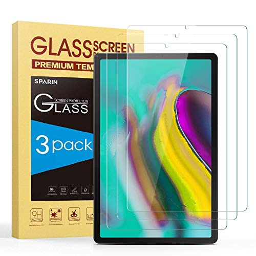Sale!! SPARIN Screen Protector for Galaxy Tab S6/Tab S5e 10.5 inch, [3-Pack] Samsung Galaxy Tab S6/T...
