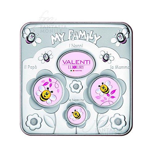 Valenti Baby My Family fotolijst van zilver bilamin 71502/5R