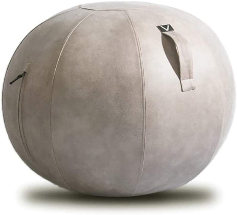 VIVORA/ヴィヴォラ バランスボール レザー調 M40106(サイズはありません ア:ライトグレー)