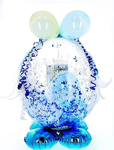 Befüllter Geschenkballon - das ideale Geschenk; Standard-Version für Geburtstag, Hochzeit, Baby etc.