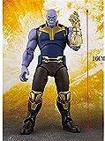 Fting Thanos Modelo Toy Avengers Personajes Infinity War 16CM Thanos Muñecas Móvil Muñeca Muñeca Modelo Colección Juguetes Modelo Regalos Juguetes de cumpleaños Modelo D