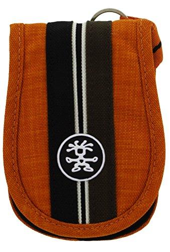 Crumpler Messenger Boy 40 Marken Tasche für Kamera/Foto/Mp3 Player orange/schwarz