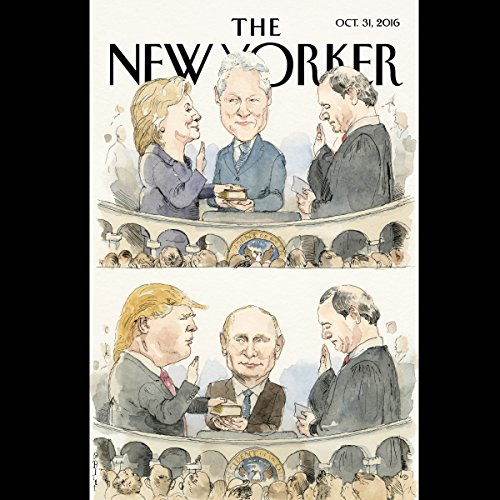 The New Yorker, October 31st 2016 (George Packer, Joan Acocella, Alex Ross) copertina