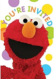 Sesame Street Invitations 8 Count