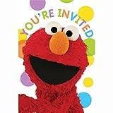 Sesame Street Invitations 8 Count