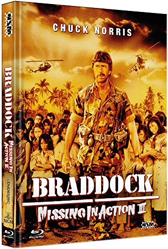 Missing in Action 3: Braddock  [Blu-Ray+DVD] - uncut -  limitiertes Mediabook Cover C