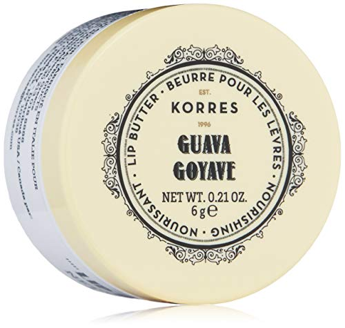 Korres Lip Butter Guava/Colourless, 1er Pack (1 x 6 g)