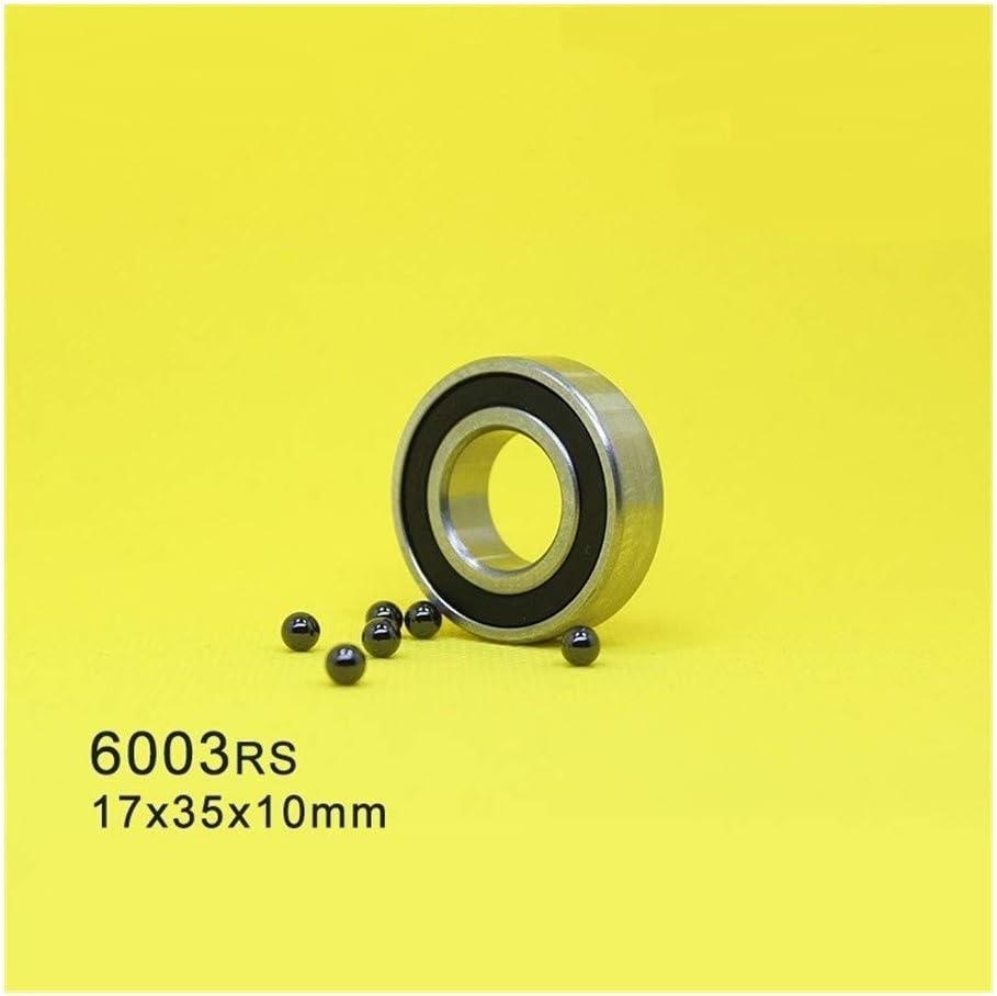 Majhengg 6003 6003RS Hybrid Ceramic Bearing 17x35x10 mm ABEC-1 (