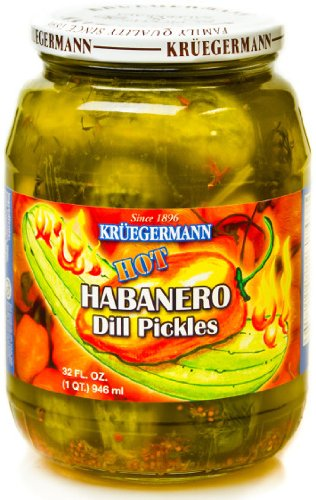 Hot Habanero Dill Pickles