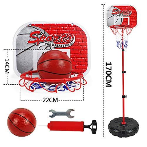 Webla 170cm Deportes al aire libre Baloncesto Baloncesto interior Levantamiento de baloncesto Soporte de baloncesto