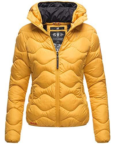 Navahoo Damska pikowana kurtka zimowa krótka pikowana kaptur outdoor B809