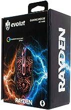 Mouse Gamer RAYDEN EG-104RB Led Rainbow 2400 DPI 6 BOTOES