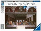Ravensburger Puzzle 1000 Piezas, Leonardo: La Última Cena, Puzzle Arte, Puzzle para Adultos, Rompecabezas Ravensburger de Alta Calidad