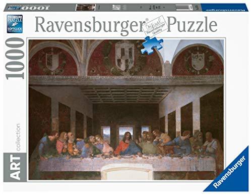 Ravensburger - Art Collezion: L'ultima Cena, Leonardo Puzzle, 1000 Pezzi, Colore Multicolore, 15776