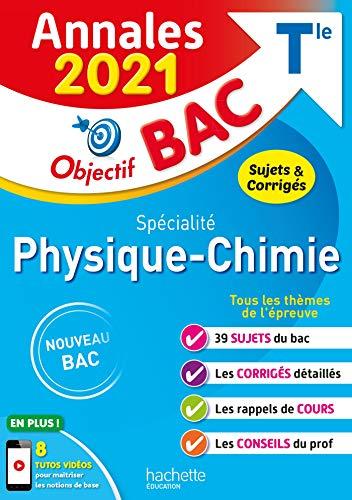 Annales Bac 2021 Spé Physique Chimie Term