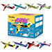 """Joygogo 32 Pack Glider Planes,8"""" Long Flying Glider Plane,8 Different Designs,Easy Assembly,Durable Quality-Kids Party Favors for Valentines Airplanes,Birthday Party, Carnival Prizes (Renewed)"""
