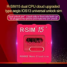 R-SIM15 X Dual CPU Aegis Cloud Upgrade Universal Unlocking Card for iOS13 System