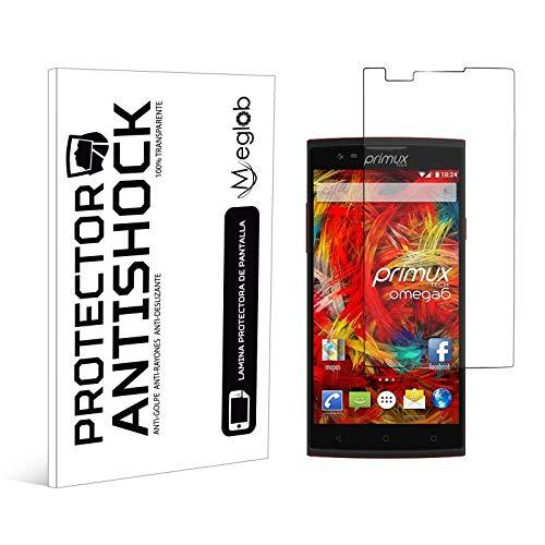 Protector de Pantalla Anti-Shock Anti-Golpe Anti-arañazos Compatible con Primux Omega 6 4G