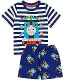 Thomas & Friends Pijamas Niños Trenes Camisa con Fondos Largos o Cortos 2-3 años