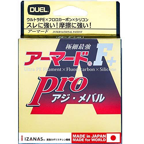 DUEL(デュエル) PEライン 0.2号 アーマード F+ Pro アジ・メバル150M 0.2号 ライトピンク アジ・メバル H4094