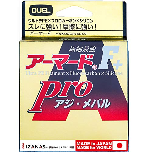 DUEL(デュエル) PEライン 0.4号 アーマード F+ Pro アジ・メバル150M 0.4号 ライトピンク アジ・メバル H4096