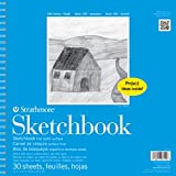 Strathmore STR- 30 Sheet Kids Spiral Sketch Book, 12', 12 by 12'