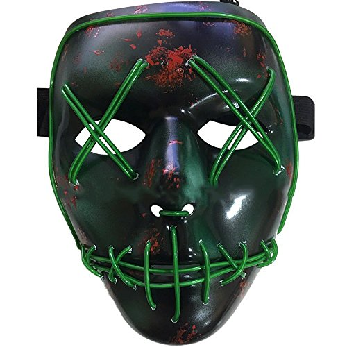 Knowing LED Halloween Masque EL Wire Masque...