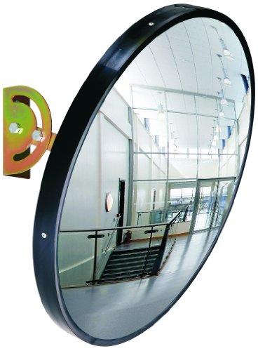 Elro Mirror45 bewakingsspiegel, diameter ca. 45 cm, zwart.