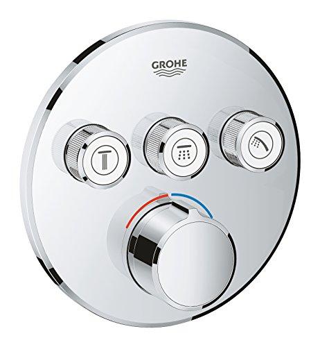 Grohe 29146000 -SmartControl Empotrado Mezclador Redondo con 3 salidas Independientes