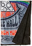 Liquid Blue Men's Pink Floyd Carnegie Hall Warm Coral Fleece Throw Blanket, multi, 50' X 60'