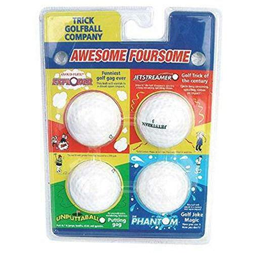 Loftus International The Awesome Foursome - The World's Best Trick Golf Balls