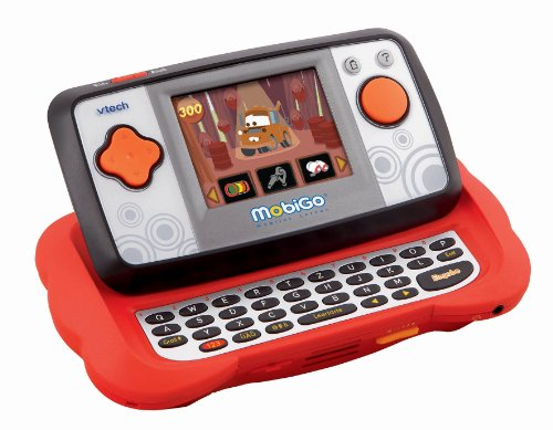 VTech 80-115874 - MobiGo rot inkl. Lernspiel
