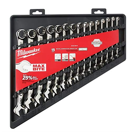 MLW48-22-9515 Combination Wrench Set, Metric