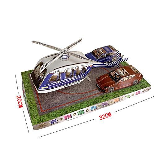 HNHT Voorouder Geld, Offer Voorouder Papier Vliegtuig Auto Brandende Papier Supplies, Gebruikt voor Qingming Festival, Dag van de Doden, Begrafenis, Officiële Aanbod