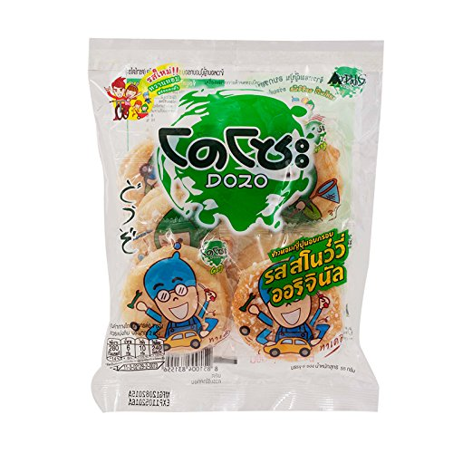 Dozo Japanese Rice Cracker Snowy Original 55 Oakland Mall g. Flavour New popularity Pack
