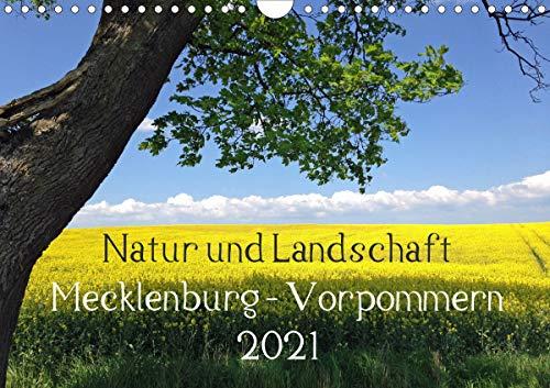 Natur und Landschaft Mecklenburg - Vorpommern 2021 (Wandkalender 2021 DIN A4 quer)