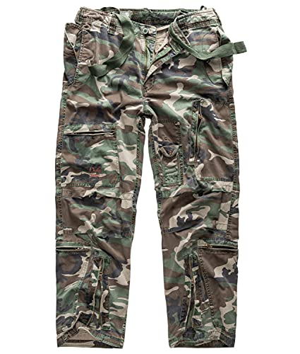 Surplus Infantry Cargo Pantalons Woodland Taille S